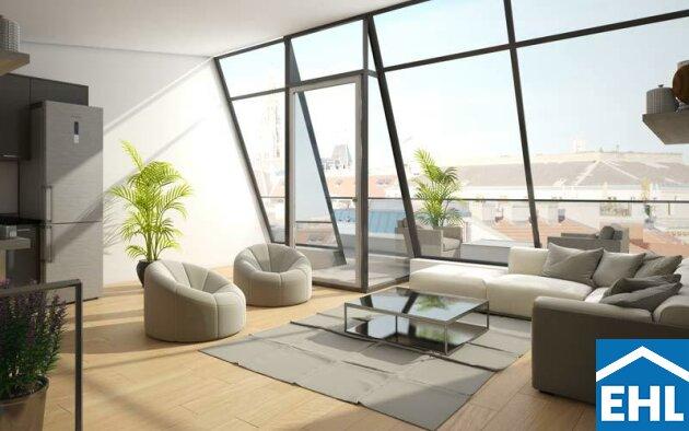Exklusive Dachgeschoss Vorsorgewohnung in einzigartiger Lage