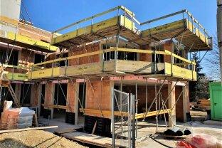 BAUSTART !!! , 3 Zimmer-Dachgeschoss mit 70 m² Terrasse + 46,84 m² Dachterrasse