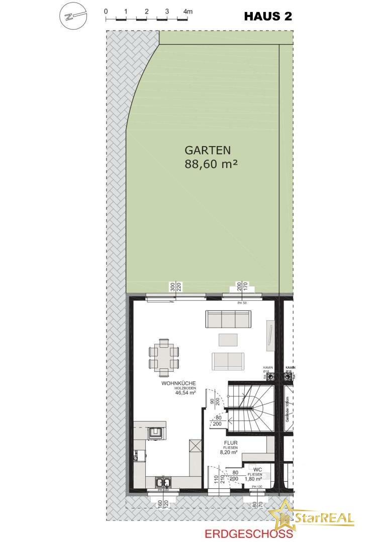 HAUS 2 Garten