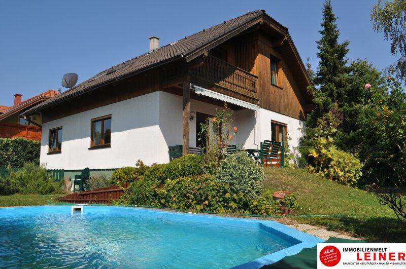 Gemütliches Einfamilienhaus mit Pool und feinem Garten, Wien Nähe! Objekt_8761
