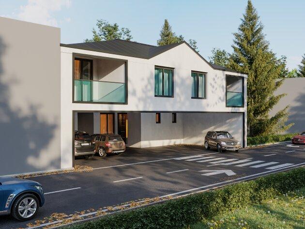 Foto von +WOW+ Belagsfertige 5-6 Zimmer Doppelhaushälfte im Zentrum Parndorfs samt SW Garten!