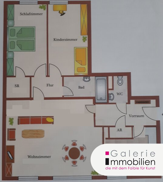 VIDEO: 3-Zimmer-Grünblick-Wohnung am Schlosspark! Objekt_35168 Bild_458
