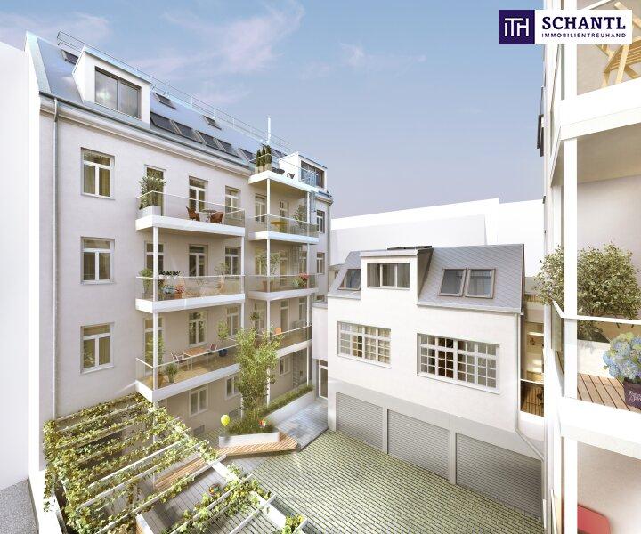 Auf nach Währing! Hochwertig sanierte Altbauwohnung mit hofseitigem Balkon! Wunderschönes und revitalisiertes Altbauhaus + Ruhelage! /  / 1180Wien / Bild 0
