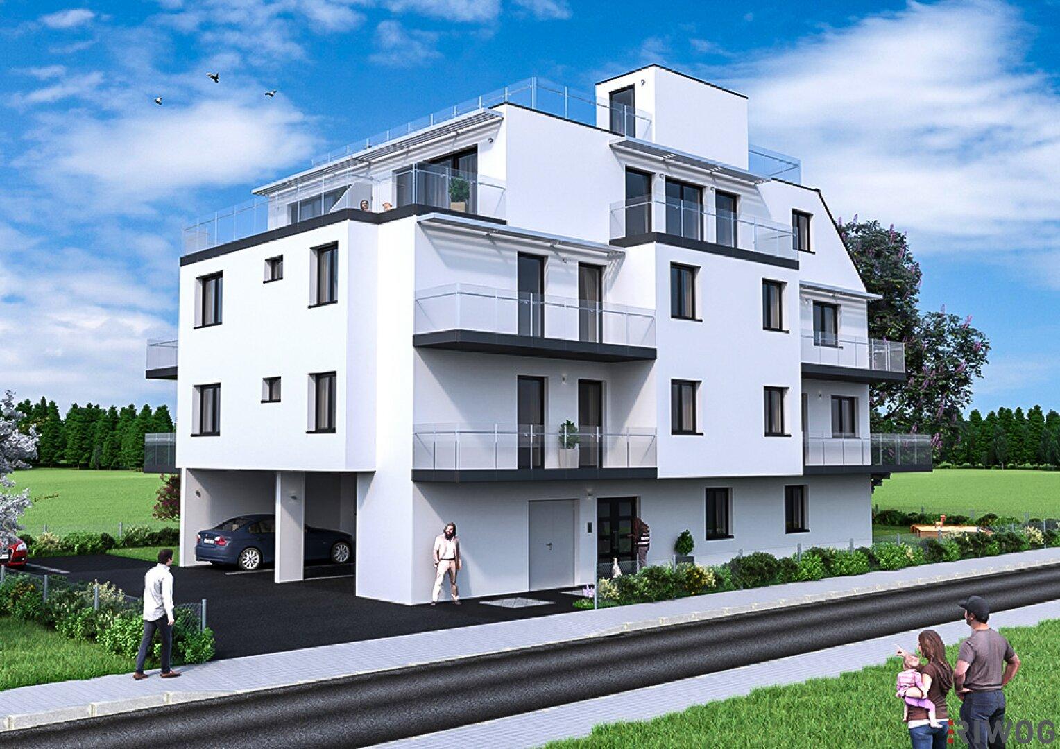 OLEA - Wohnresort Hirschstetten (Projektansicht)