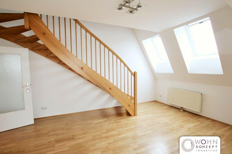 Traumhafte Dachterrassen-Maisonette in repräsentativem Altbau - schön renoviert auf 91m² mit Einbauküche 1040 Wien /  / 1040Wien / Bild 2