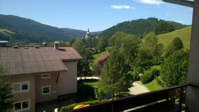 Schöne Aussicht in Straßburg Bezirk St. Veit an der Glan!