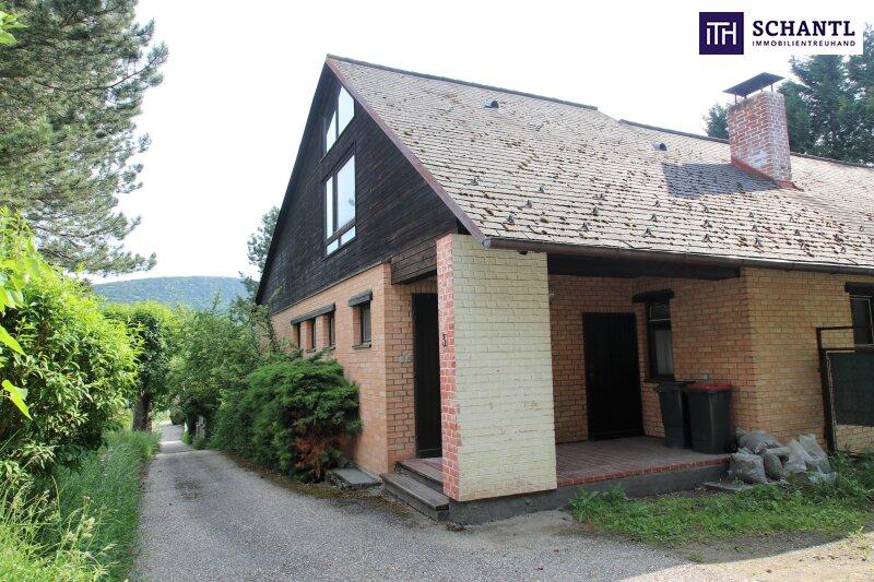 Naturidylle ! Absolute Toplage ! Südseitiges Traumgrundstück mit ausbaubarem Haus in Hinterbrühl ! /  / 2371Hinterbrühl / Bild 0