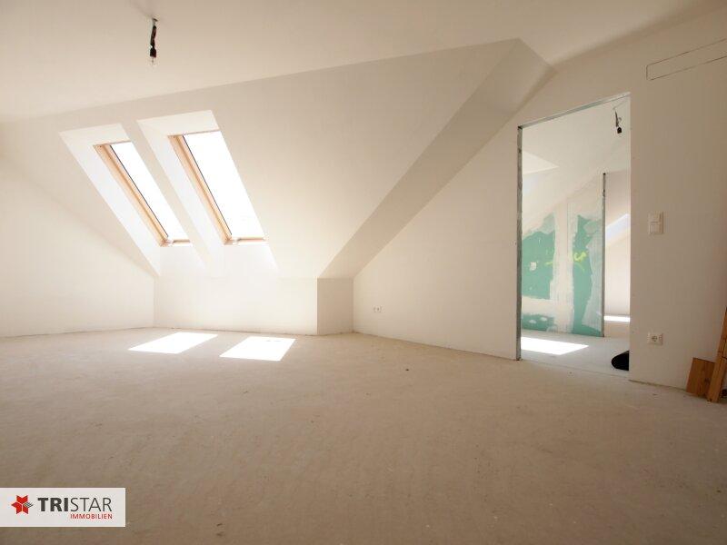 Hochwertig errichtete 3 Zimmer DG-Wohnung mit großer Wohnküche, Bad, separater Toilette und Terrasse, in wunderschöner Innenhofruhelage! /  / 1100Wien / Bild 4