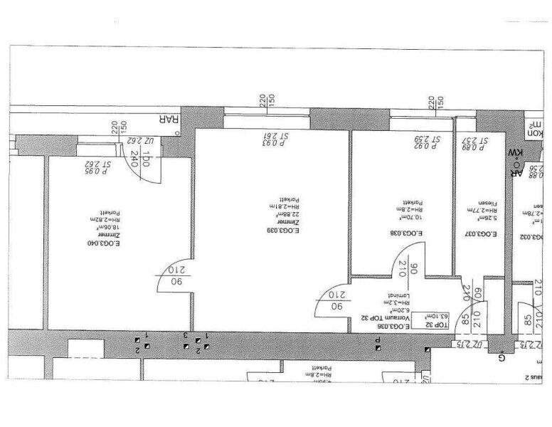 Stadtpark nähe 2 Zimmer-Wohnung mit Balkon /  / 1030Wien / Bild 9