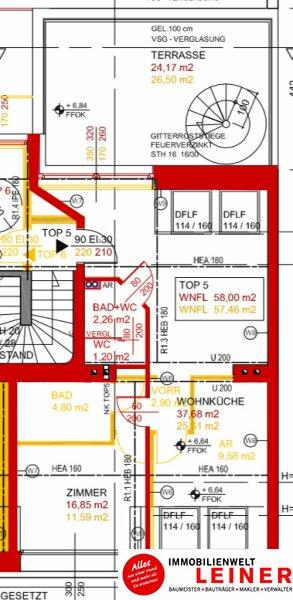 Wunderschöne Penthouse Wohnung mit großer Dachterrasse zu mieten! Objekt_8922 Bild_718