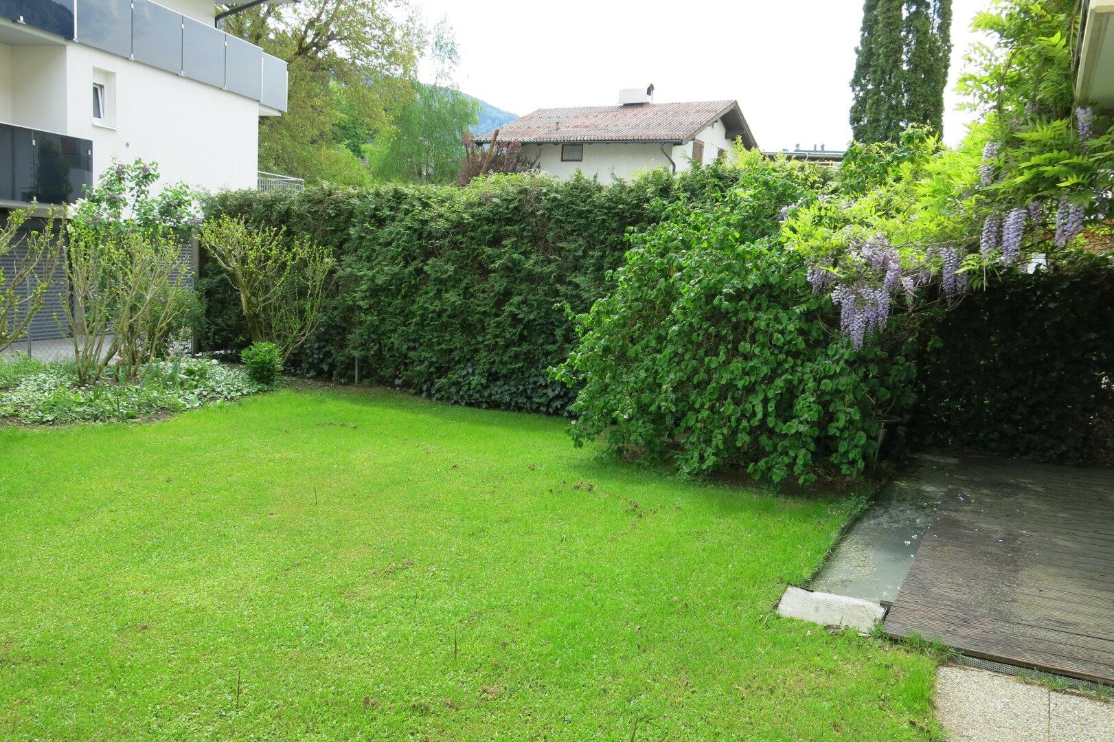 Garten Ansicht 2, 3-Zimmer Mietwohnung Kufstein