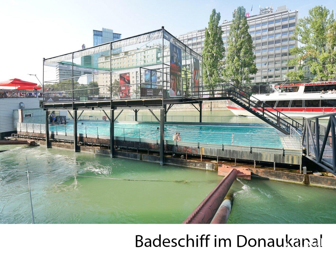 Badeschiff am Donaukanal