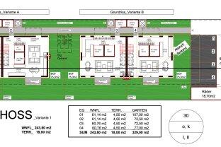 4 Häuser - Bauprojekt Tribuswinkel