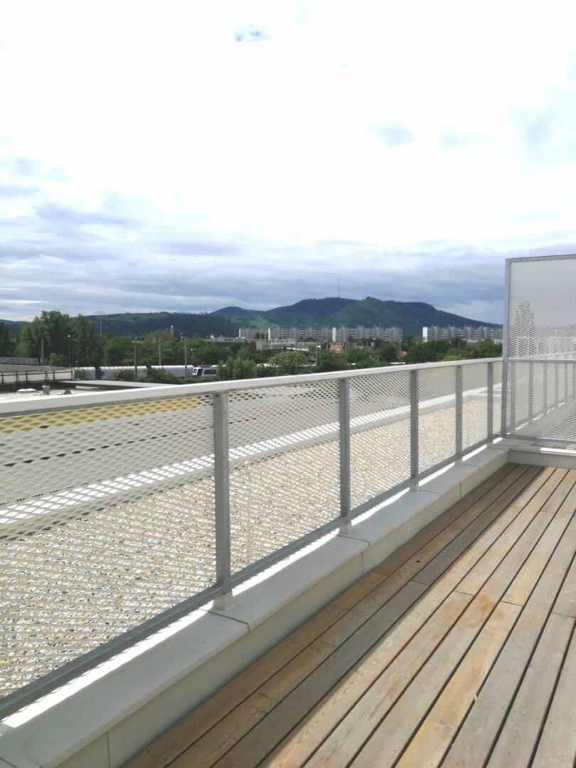 Terrasse - auf Wohnebene