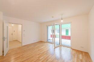 freundliche 2-Zimmer Terrassenwohnung in Hirschstetten - ERSTBEZUG