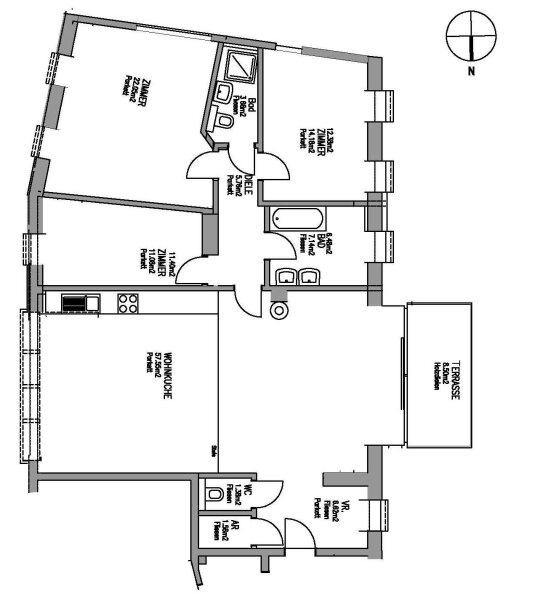 Elegante DG-Wohnung mit Sonnenterrasse! /  / 1130Wien / Bild 0
