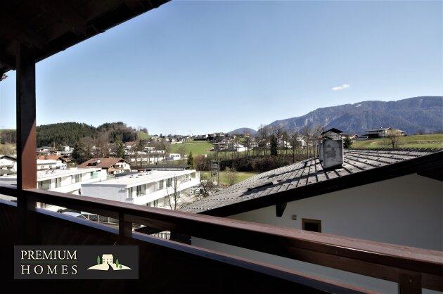 Breitenbach-Dorf-Mietwohnung-Balkon mit Sicht Richtung Südosten