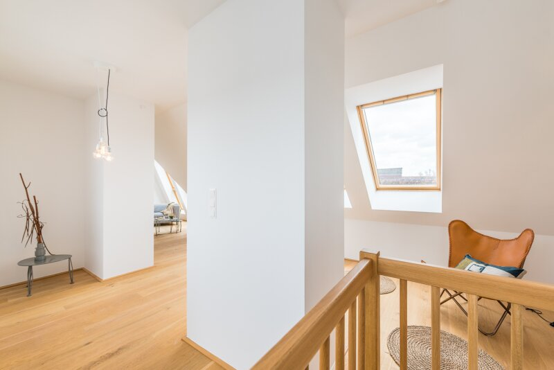 ++NEU++ TRAUM-DG-Maisonette, Dachterrasse: Kahlenberg/Cobenzl-BLICK, VIDEOBESICHTIGUNG! /  / 1190wien / Bild 8