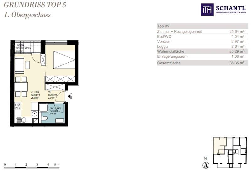 JETZT ZUGREIFEN: Liebevolle, perfekte Single-Wohnung mit Loggia in 8020 Graz! /  / 8020Graz / Bild 4