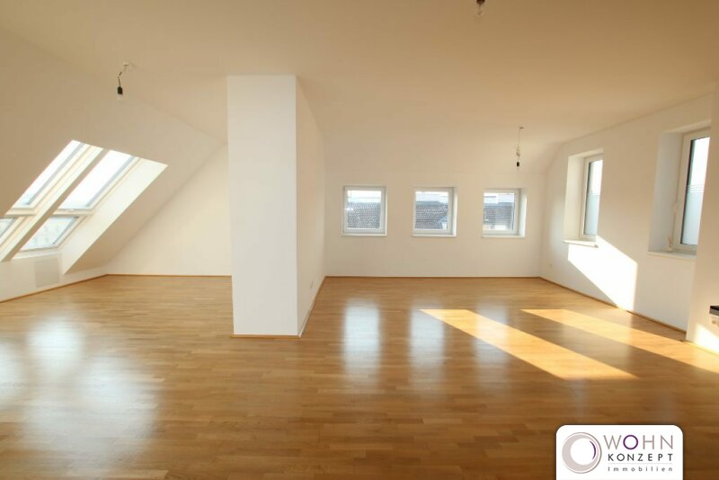 Moderne Dachgeschosswohnung mit TERRASSE am Spittelberg 1070 WIEN