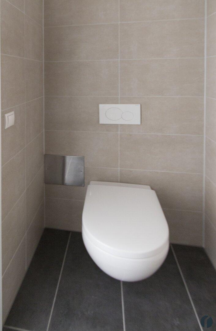 Musterwohnung WC mit Waschbecken