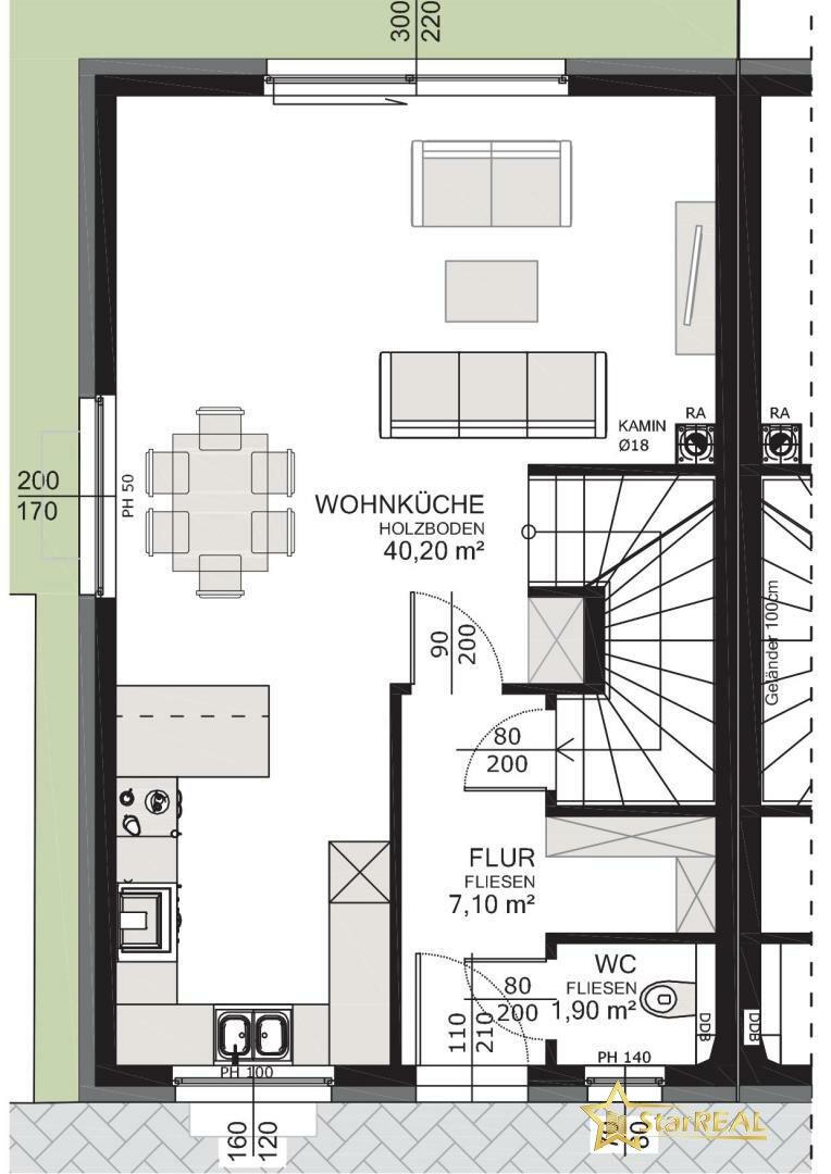 HAUS 5 Erdgeschoss