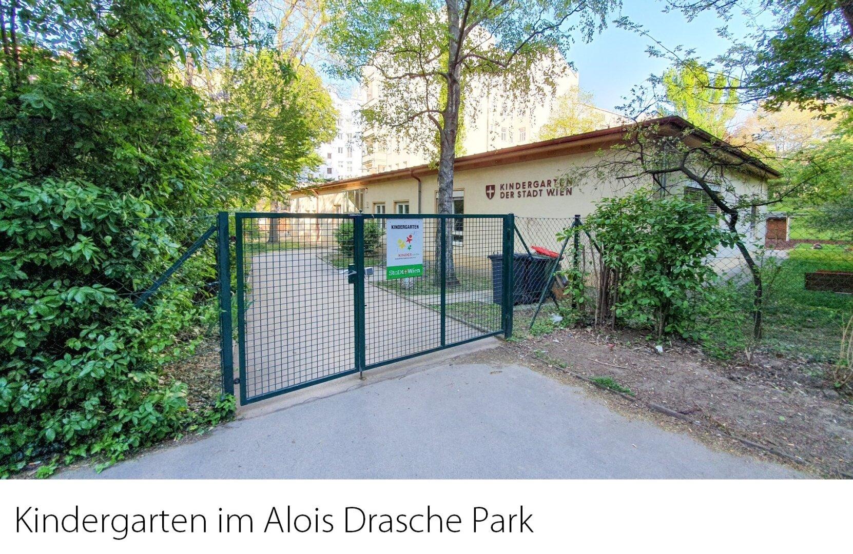 Kindergarten im Alois-Drasche-Park
