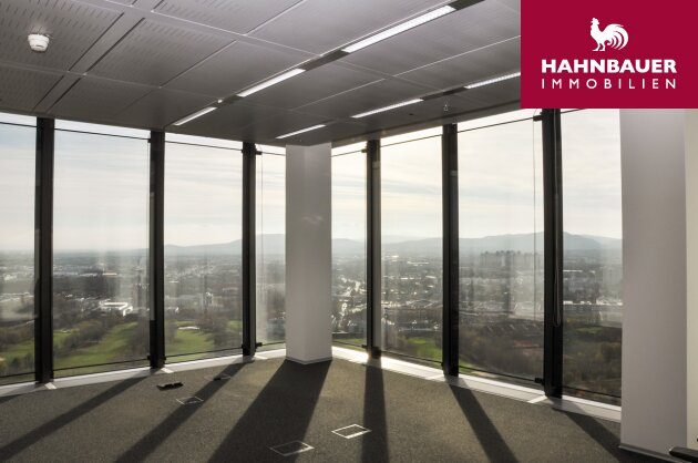 Modern Office 318 m2 on 19th floor to let, underground parking, motorway 1100 Wien, Austria