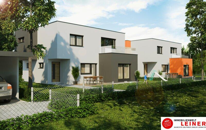Achtung! Kaufanbot liegt vor! Exklusives Einfamilienhaus (Haus 3) mit traumhafter Dachterrasse sowie Gründach am Laaer Berg! /  / 1100Wien / Bild 1