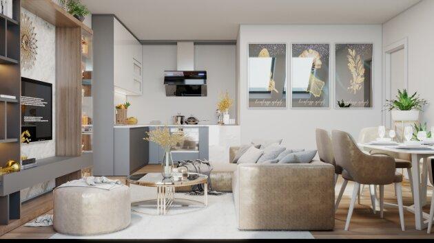 Foto von Helle 4-Zimmer DG-Neubauwohnung (Fertigstellung Mai 2021!)