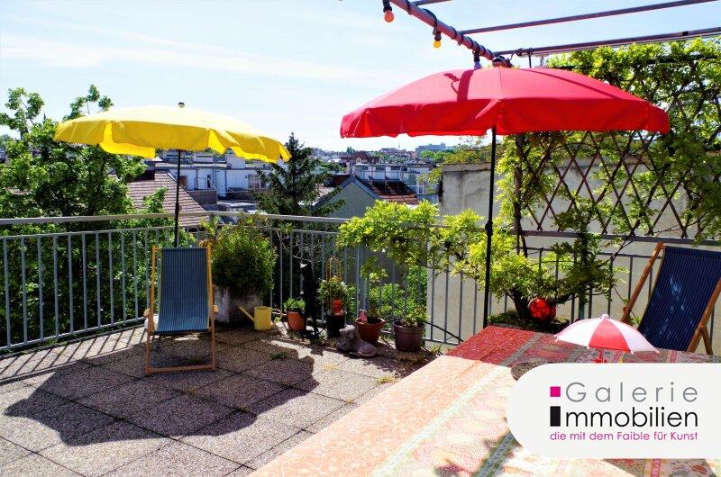 Traumhafte Maisonette mit 30m² großer Terrasse und Fernblick in traumhaftem Stilaltbau Objekt_33317