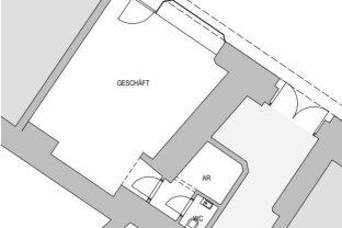 45qm Geschäftsfläche Mitten im 1. Bezirk - Nähe Stephansplatz