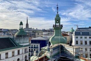 Luxuspenthouse mit Panoramablick | Tuchlauben