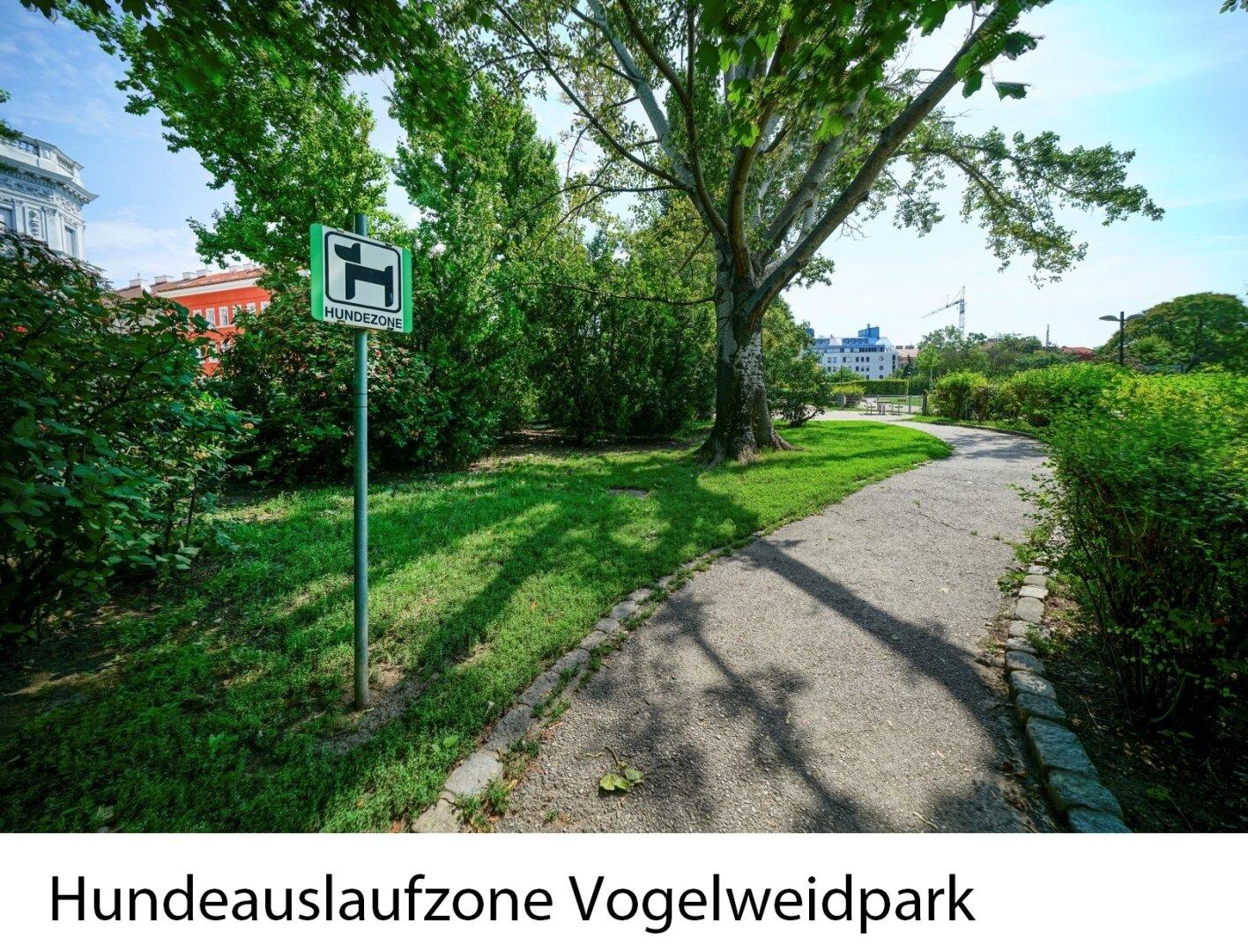 Hundeauslaufzone Vogelweidpark