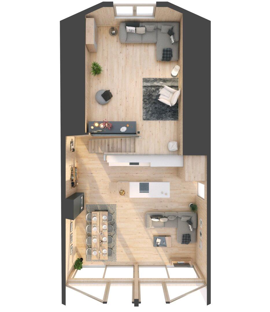 3 D Grundriss Galerie