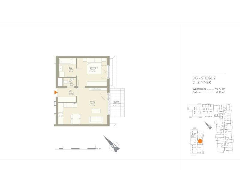 BALKON-Wohnung in der Nähe von Hauptbahnhof !!! /  / 1100Wien / Bild 8
