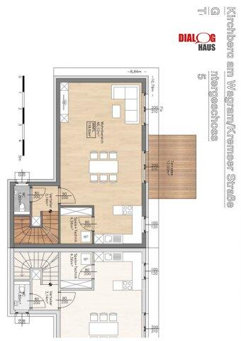 Schnell zugreifen, nur mehr wenige vorhanden - exklusive  Doppelhäuser in Kirchberg/Wagram