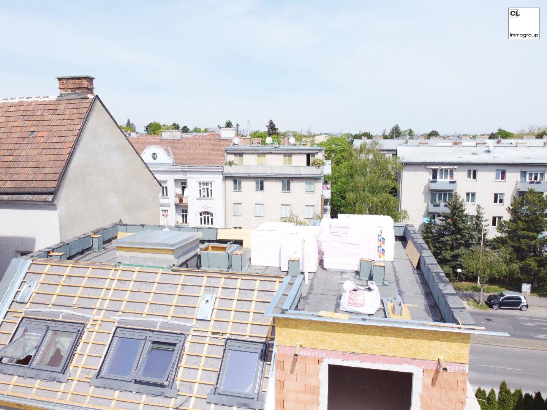 Dach Rohbau