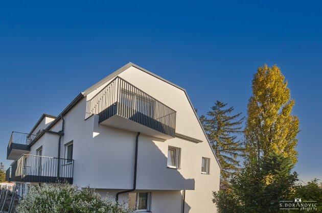 Foto von NEU! ++ Direkt am Erholungsgebiet Laaer Wald, Parkanlage Löwygrube, Böhmischer Prater sowie Kurpark Oberlaa + Wohnen im grünen Bereich der lebenswertesten Stadt der Welt+ 15 stylische Neubauwohnungen (BJ 2020-2021) mitBalkonen/ Terrassen/ Garten ++