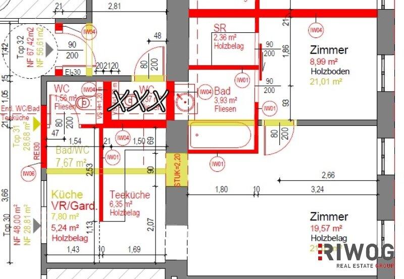 HOCHWERTIGE Pärchenwohnung in Hernals - ruhig und Komplettausstattung /  / 1170Wien / Bild 7