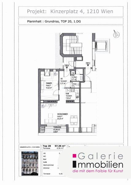 Nähe Alte Donau - Bezaubernde DG-Wohnung mit Terrasse und Grünblick in generalsaniertem Jahrhundertwendehaus Objekt_31837 Bild_259