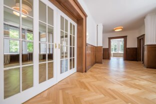 Grinzingerallee 50: High-quality, renovated Belle Etage in a unique living environment