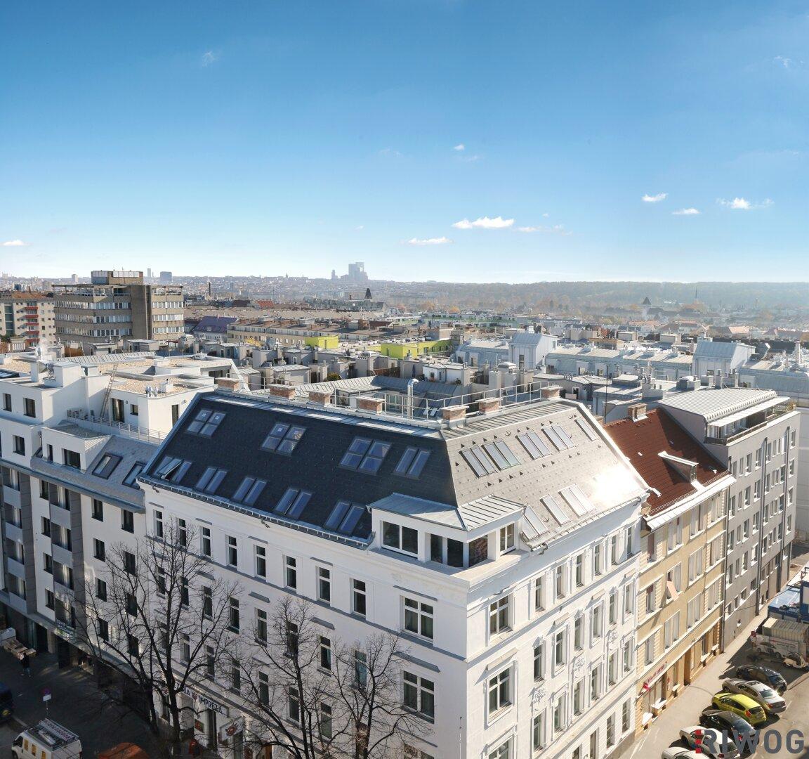 HÜTTELDORFERSTR215|Dachgeschoss Erstbezug|Fernblick|Topausstattung (Projektansicht)