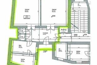 ROCHUSMARKT: 2 Zimmer mit separater Küche im Ersten Liftstock und Top Lage!