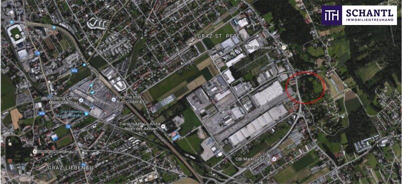 FANTASTISCH! ENDLICH GEFUNDEN!  Erstbezugs  Terrassenwohnung 60m² mit 70m² SONNENTERRASSE im grünen Bezirk St. Peter. /  / 8042Graz / Bild 6