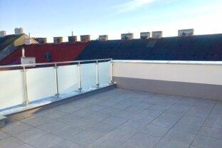 Herrliche 3,5-Zimmer Dachgeschoß-Wohnung mit Terrasse - ERSTBEZUG!