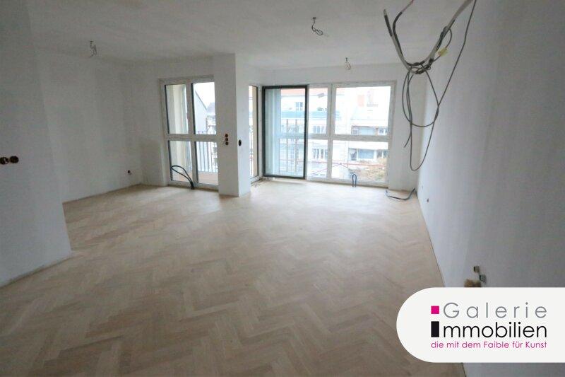 Grünblick und Ruhelage - Entzückende DG-Wohnung mit Loggia in generalsaniertem Gründerzeithaus Objekt_33343