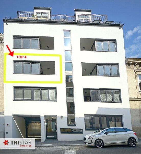 NEU! ++ Ideal als KAPITALANLAGE oder zur EIGENNUTZUNG ++ Nur noch 3 Wohnungen: Neubau (2016), Schlüsselfertig, 3 Zimmer Neubau-Wohnung in 1170 Wien, Loggia, Garagenplatz im Haus (Top 4) ++