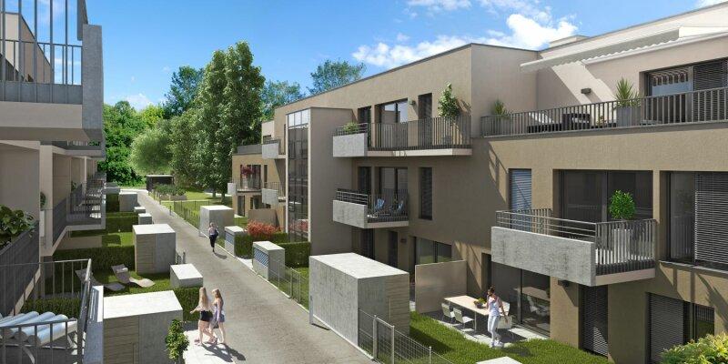 Neubau-Traumwohnung in ruhiger Siedlungslage mit 13m² Balkon - PROVISIONSFREI