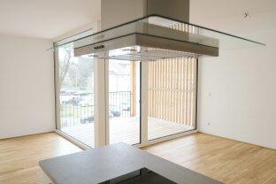 PROVISIONSFREI für den Mieter - 3 Zimmer-Neubauwohnung mit Balkon - begrünte Parkanlage